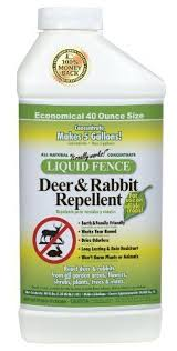Liquid Fence 113 Deer And Rabbit Repellent 40 Ounce Concentrate By Liquid Fence 32 67 Dries Odorless Rabbit Repellent Rodent Repellent Planting Vegetables