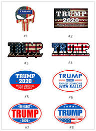2020 Trump Car Stickers 2020 Presidential Election Donald Trump Sticker 7styles Pvc Sticker For Car Striated Adhesive Label A07 Wall Saying Decals Wall Sayings From Zw Network 0 69 Dhgate Com