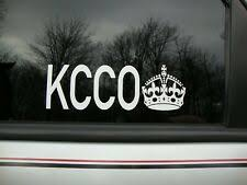 Kcco Car Decal Ebay