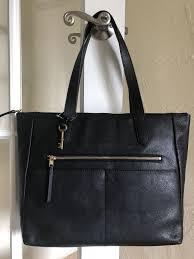 fiona ew tote zb7484 black leather