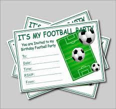 14 Unids Lote Invitaciones De Fiesta De Cumpleanos De Futbol