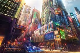 anime city wallpapers top free anime