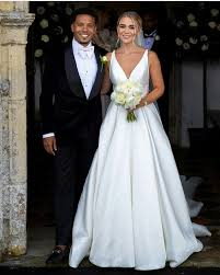 Footballers Wags Kids — Korey Smith and Hattie are married ❤💍💐 Pic:  Hattie...
