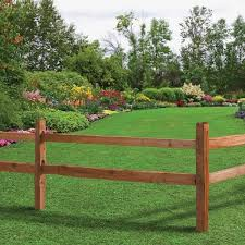 Unbranded 3 1 2 In X 3 1 2 In X 5 Ft 2 Hole Red Cedar Split Rail Fence End Post 116965 The Home Depot