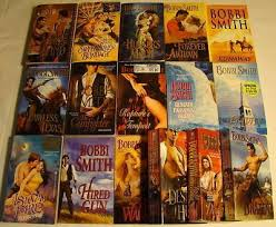 16 BOBBI SMITH Historical Romance Lot HIRED GUN, HAVEN   #127371525