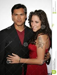 Adam Beach and Tara Mason editorial photo. Image of celebrity ...