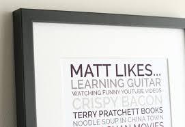 personalised likes poster generator