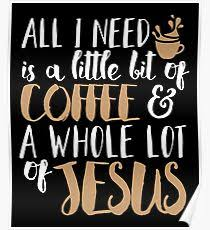 coffee and jesus posters redbubble