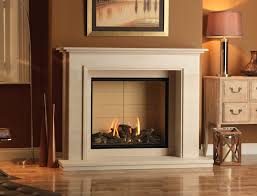 wood burning fireplaces or gas which