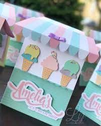 Amelia S Icecream Shop Invitacion Tematica Para Celebrar