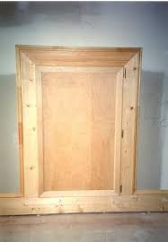 knee wall door attic access door