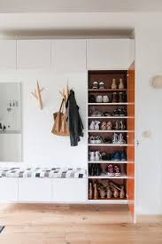 Shoe Storage Cabinet With Bench For Kids Room Homemydesign