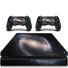Vwaq Ps4 Slim Decal Space Skin Playstation 4 Slim Skins Galaxy Sticker