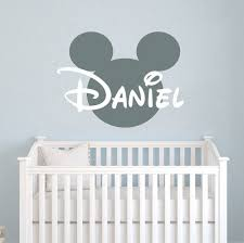 Decal House Mickey Mouse Personalized Name Wall Decal Reviews Wayfair