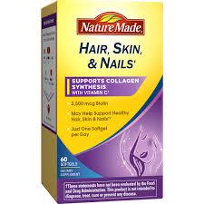 hair skin and nails softgels 60 pk