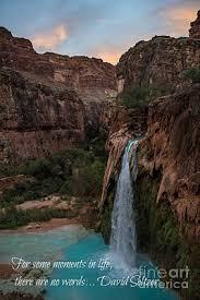 havasu falls quote photograph by jim mccain