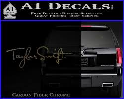 Taylor Swift Signature Logo Decal Sticker A1 Decals