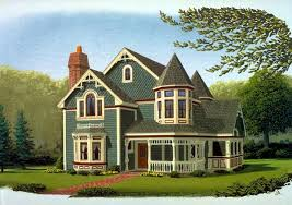 house plan 90342 victorian style with