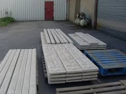 Light Weight Concrete Fence Posts And Gravel Boards Memorial Concrete Supplies