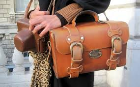 vintage leather bags catbags