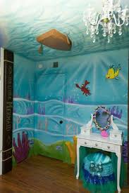 15 Gorgeous Little Girl Bedroom Ideas Little Mermaid Bedroom Little Mermaid Room Disney Princess Room