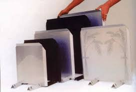 the fireback heat reflector shield
