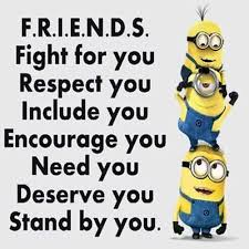 minion pictures expressing true meaning of friendship slide
