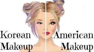american vs korean stardoll makeup