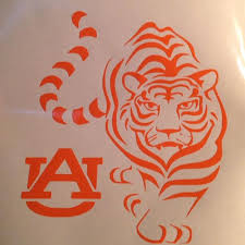 Best Auburn Tiger Vinyl Decal For Sale In Mcdonough Georgia For 2020