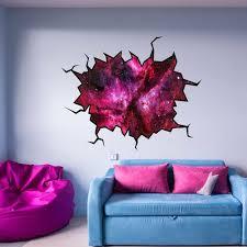 East Urban Home Outer Space Nebula Galaxy Wall Decal Wayfair