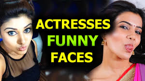 actresses funny faces actor and