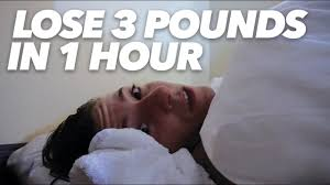 how to lose 3 pounds in 1 hour with