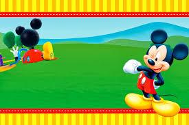 Invitaciones De Cumpleanos De Mickey Mouse Para Imprimir
