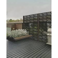 Panneau Decoratif D Exterieur Morse 2 X 4 Noir Outdoor Panels Outdoor Decor Outdoor Screen Panels