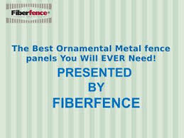 The Best Ornamental Metal Fence Panels You Will Ever Need By Fiberfence Issuu