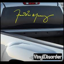 Freddie Mercury Car Bumper Sticker Decal 3 X 5