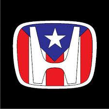 Puerto Rico Car Decal Sticker Honda With Puerto Rican Flag 227 Ebay