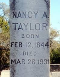 """Nancy Adeline """"Pansy"""" Taylor (Ross) (1840 - 1931) - Genealogy"""