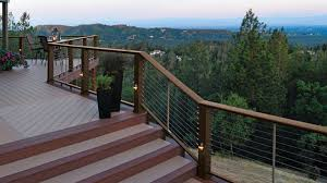 Composite Cable Railing Systems Timbertech Evolutions And Radiancerail Decksdirect