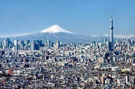 Amazon Com Wallmonkeys Wm361389 Tokyo Skyline Mit Mount Fuji Und Skytree Peel And Stick Wall Decals 30 In W X 20 In H Medium Large Home Kitchen