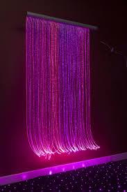 Fiber Optic Cascade Light Wall For Sensory Rooms