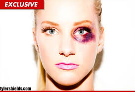 how to fake a black eye makeup