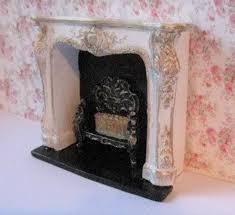 dollhouse fireplace elegant fireplace