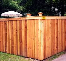 Fence City 72 High Solid With Cap Face Fence Red Cedar 1 X 4
