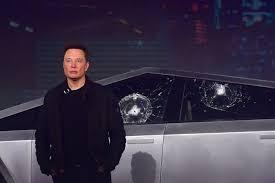 Elon Musk Explains Why Tesla S Cybertruck Windows Smashed During Presentation The Verge