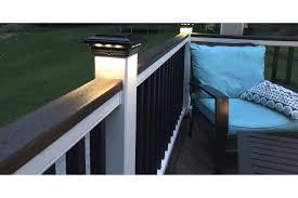 4 In X 4 In Solar Post Cap Light Black Building A Deck Solar Post Caps Deck Design