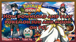 How to download and play Pokemon Sun/Moon on PC - YouTube
