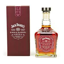 jack daniel s single barrel rye whiskey