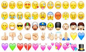 بالصور هل تعلم معنى الابتسامات Emoji S التي تستخدمها مجلة الجرس
