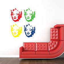 Pin By Suzy Diamond On Great Buys Face Wall Decal Vinyl Wall Decals Wall Decals